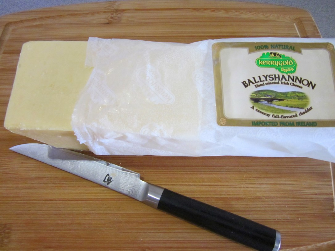 Superb Cheddar Cheese from Kerrygold, Ireland--Ballyshannon--also Try their Dubliner Cheese