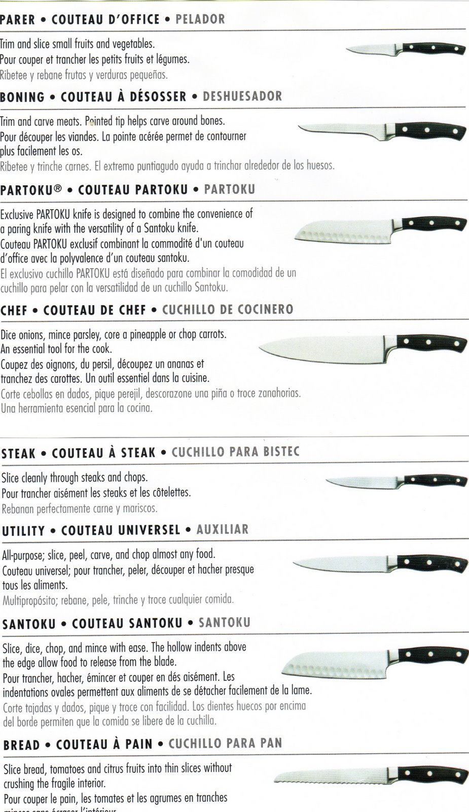 chicago cullary knives