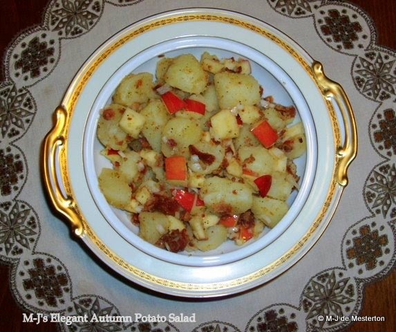Elegant Autumn Potato Salad