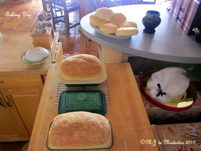 Bread-Making is Good Exercise