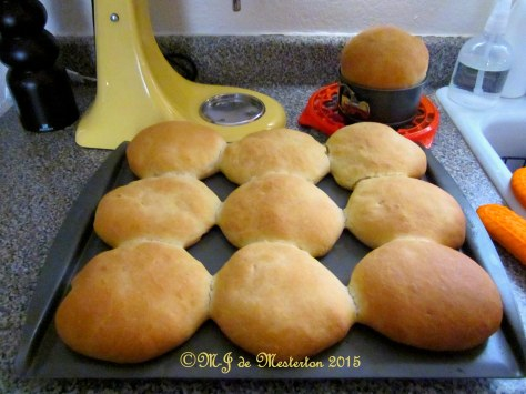 Making Hamburger Buns at Home without the Preservatives and Corn Syrup