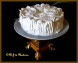 M-J's Casual White Cake