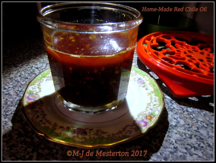 Home-Made_Chile_Oil_Copyright_Elegant_Cook_M-J_de_Mesterton
