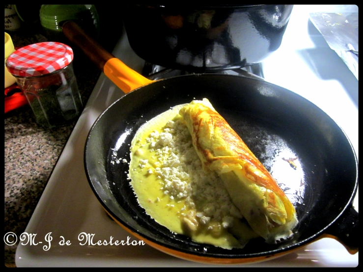 Japanese_Rolled_Omelette_Stainless_Spatula_Le_Creuset_Pan